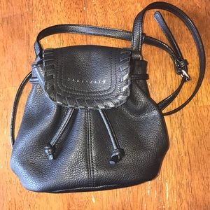 Black Crossbody Authentic Leather Purse